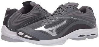 Mizuno Wave Lightning Z6 (White/Navy) Men's Volleyball Shoes