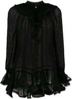 Zimmermann sheer blouse