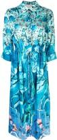 Peter Pilotto foliage-print dress