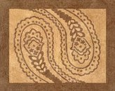 JoJo Designs Camel and Chocolate Paisley Accent Floor Rug by Sweet