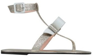 Pollini Toe post sandal
