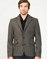 Le Château Two Tone Wool Blend Blazer