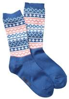 Timberland Patterned Crew Socks - Pack of 2