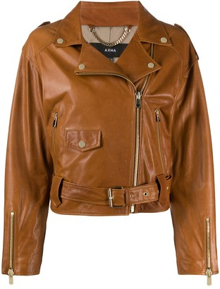 Arma Fitted Biker Jacket