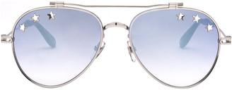 Givenchy Eyewear Star Detail Aviator Sunglasses