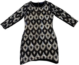 April May Silver Glitter Dress for Women