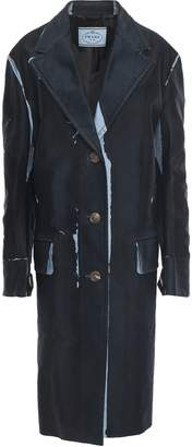 Prada Printed Cotton-gabardine Coat