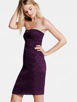 Victoria's Secret The Lace Collection Zip-front Strapless Dress