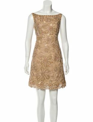 Naeem Khan Silk Mini Dress