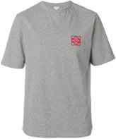 Loewe embroidered logo T-shirt - men - Cotton - S