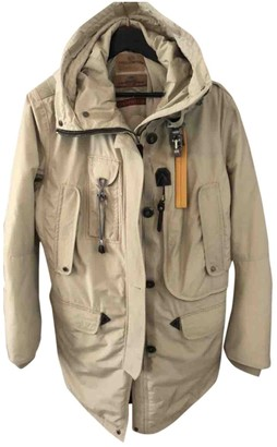 Parajumpers Beige Fox Leather jackets