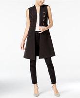 XOXO Juniors' Button-Front Vest