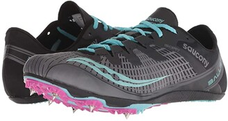 Saucony Ballista 2 (Grey/Blue) Women's Shoes