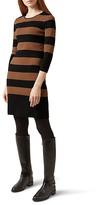 Hobbs London Emmy Striped Sweater Dress