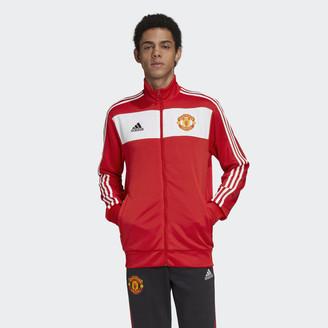 adidas Manchester United 3-Stripes Track Jacket