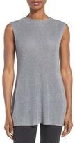 Eileen Fisher Sleek Mock Neck Sweater (Regular & Petite)