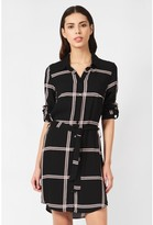 Select Fashion Fashion Womens Multi Grid Check Viscose Shirt Dress - size 6