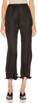 Givenchy Pleated Wave Details Pant in Black | FWRD