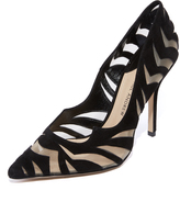 Paul Andrew Zenadia Cutout Pumps