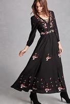 Forever 21 FOREVER 21+ RD & KoKo Embroidered Dress