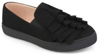 Journee Collection Glint Slip-On Sneaker