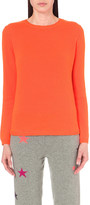 Chinti and Parker Patch-detail cashmere jumper