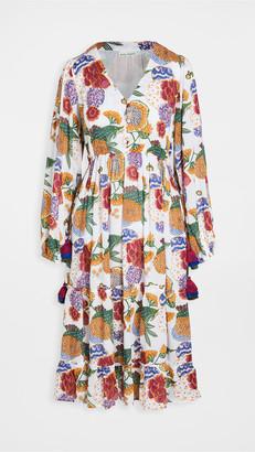 Roller Rabbit Cheri Floral Kiana Dress