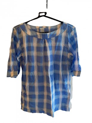 Marc by Marc Jacobs Blue Cotton Tops