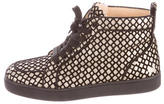 Christian Louboutin Rantus Orlato High-Top Sneakers