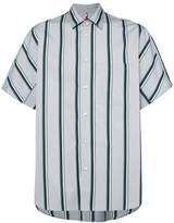 Oamc short-sleeve striped shirt