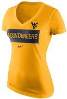 Nike Women's West Virginia Mountaineers Tailgate Dri-FIT Tee