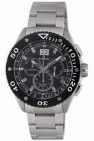 Edox Men's 10017 3 NIN2 Class-1 Black Rotating Bezel Watch