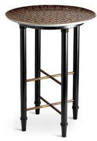 L'OBJET Fortuny Ashanti Mahogany & Earthenware Coffee Table