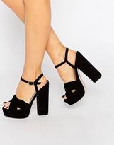 Asos HOT SPRINGS Platform Sandals