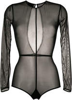 Ann Demeulemeester long sleeve sheer body