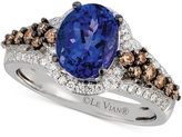 LeVian Le Vian® Tanzanite (1-3/4 ct. t.w.) and Diamond (5/8 ct. t.w.) Ring in 14k White Gold