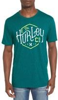 Hurley 'On Us' Graphic Crewneck T-Shirt