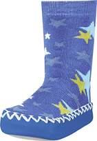 Playshoes Girls Slipper Socks, Moccasins, House Shoes, Stars Socks