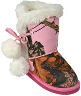 Dawgs Kids' Mossy Oak Side Tie Boots Pink