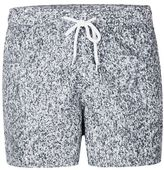 Topman Grey Textured Swim Shorts
