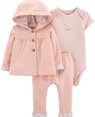 Carter's Baby Girl 3-Piece Little Cardigan Set