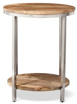 Threshold Berwyn Large Round end table Metal and Wood