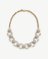 Ann Taylor Pearlized Lucite Necklace