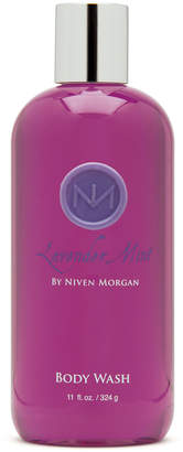Niven Morgan Lavender Mint Body Wash, 11 oz.