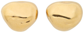 Bottega Veneta Gold Stud Earrings