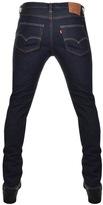 Levi's Levis 501 Original Fit Skinny Jeans Blue