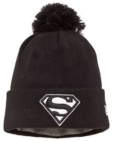 New Era Superman Glow in the Dark Bobble Beanie
