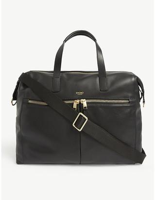 Knomo Audley leather laptop handbag