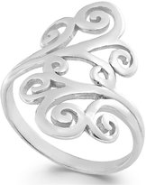 Giani Bernini Swirl Filigree Ring in Sterling Silver