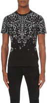 Just Cavalli Safety pin-print cotton-jersey t-shirt
